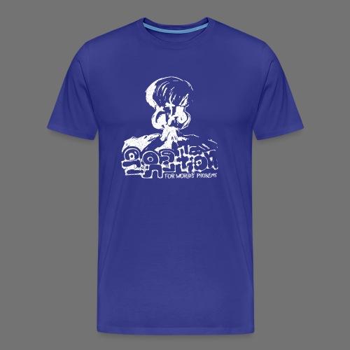 No Solution (white oldstyle) - Men's Premium T-Shirt