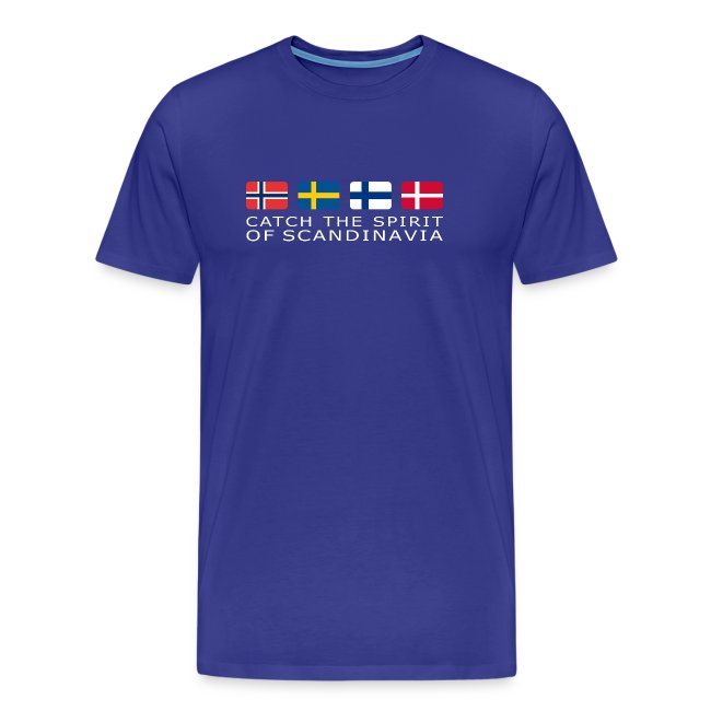 SPIRIT OF SCANDINAVIA white-lettered