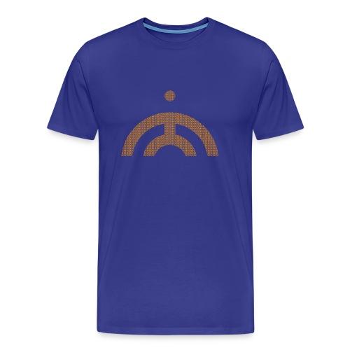 JB MONK ORANGE YELLOW - Men's Premium T-Shirt
