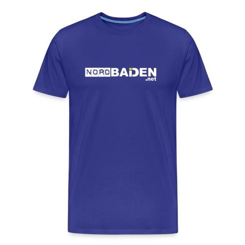 nordbaden vorlage 3 herr voss - Männer Premium T-Shirt