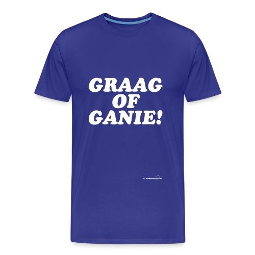 graagofganiewit - Mannen Premium T-shirt