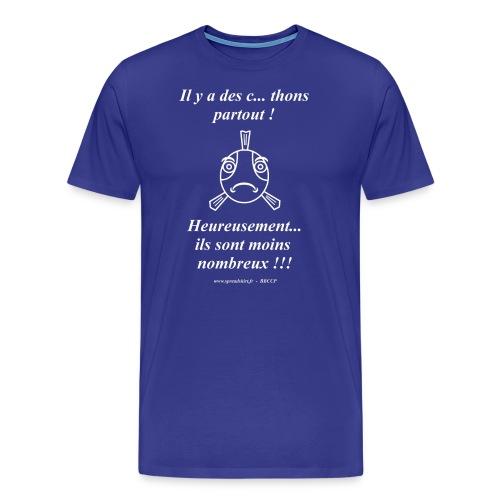 DesThons TxBlanc ssFond3 - T-shirt Premium Homme