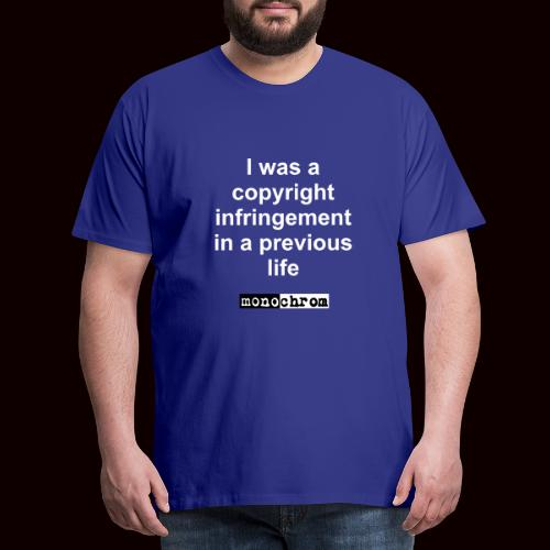 tshirt copyright - Men's Premium T-Shirt