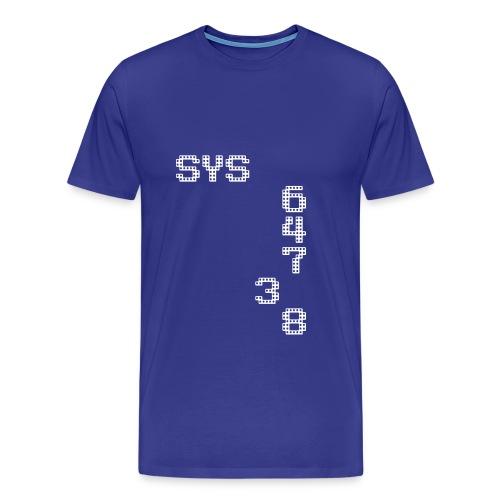 SYS64738 - Männer Premium T-Shirt