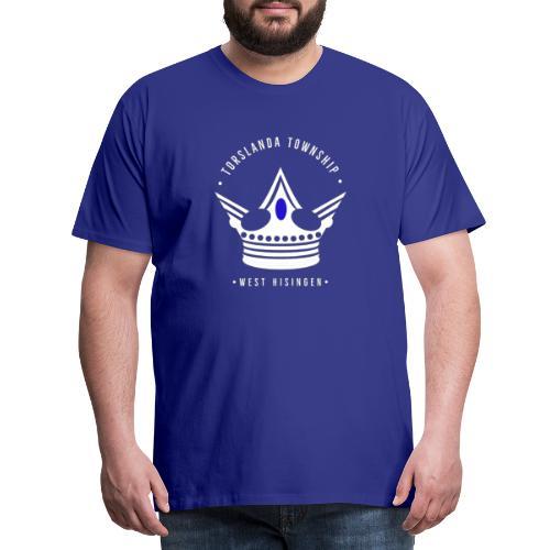 Torslanda township - Premium-T-shirt herr