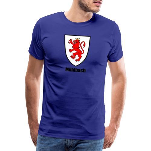 Mühlbach in Siebenbürgen - Männer Premium T-Shirt