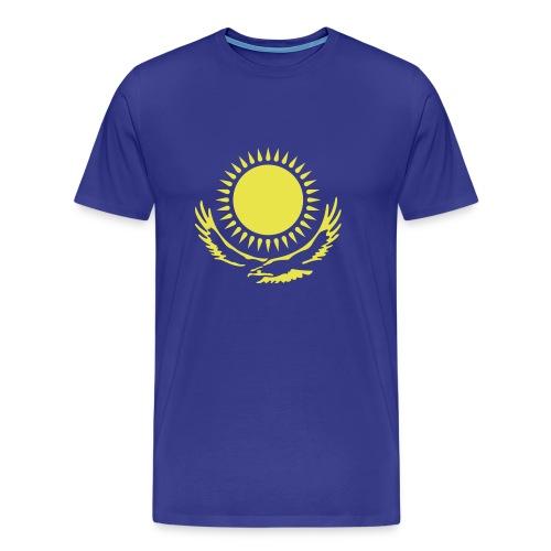 Kasachstan-Wappensymbol - Männer Premium T-Shirt