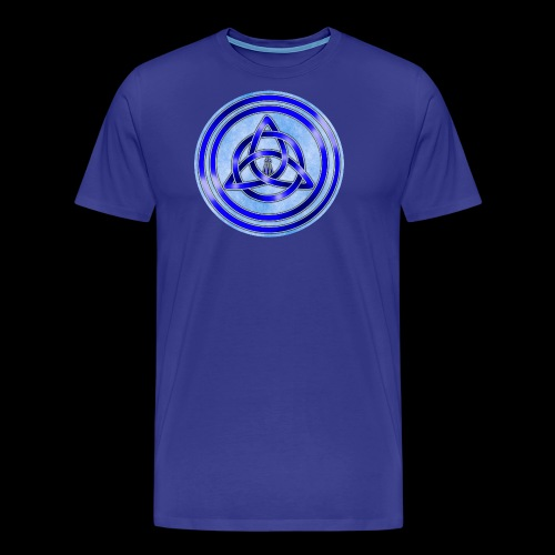 Awen Triqueta Circle - Men's Premium T-Shirt