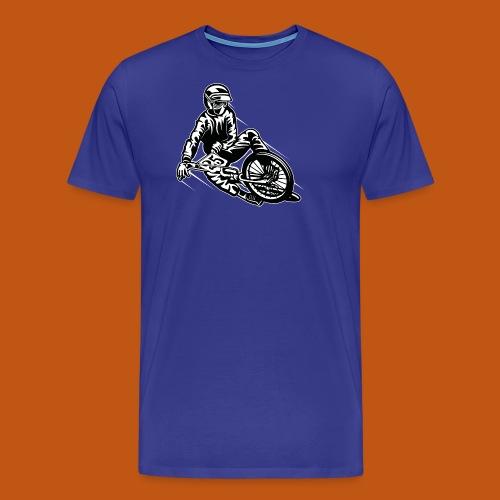 BMX / Mountain Biker 03_schwarz weiß - Männer Premium T-Shirt