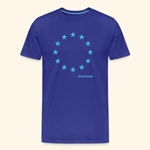 #myeurope light blue - Männer Premium T-Shirt