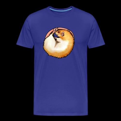 Hooded Rat - silver fawn - Men's Premium T-Shirt