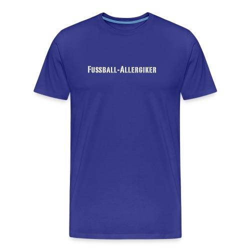Fussball Allergiker - Männer Premium T-Shirt
