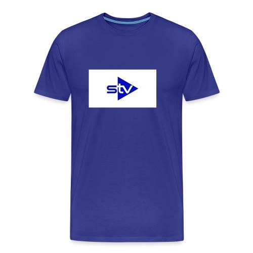 Skirä television - Premium-T-shirt herr