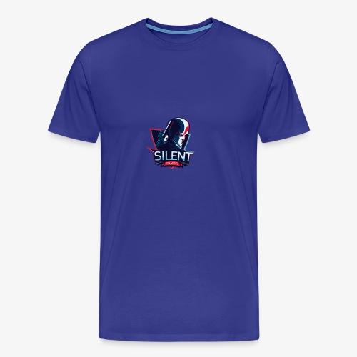 SILENTGAMING Logo color - Männer Premium T-Shirt