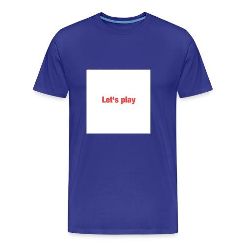 Let's play - Men's Premium T-Shirt