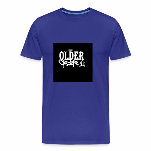 older 1 graffiti tag - Männer Premium T-Shirt