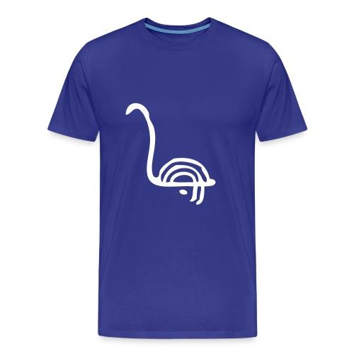Joutsenkaiverrus - Miesten premium t-paita