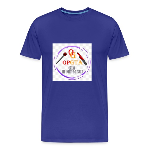 opgta logo - Miesten premium t-paita
