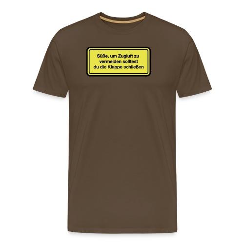 zugluft_sie - Männer Premium T-Shirt