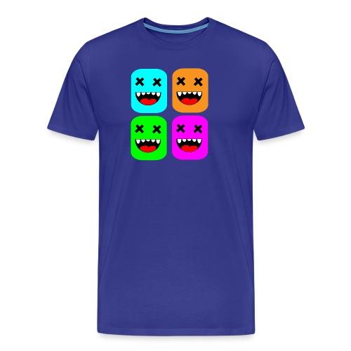 manyFaces #1 - Männer Premium T-Shirt