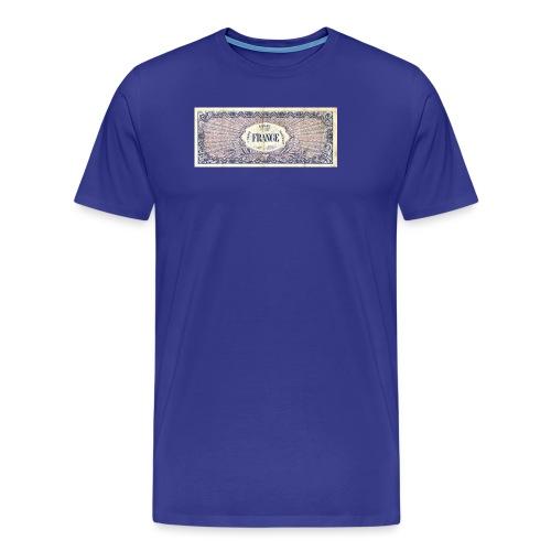 100F - T-shirt Premium Homme