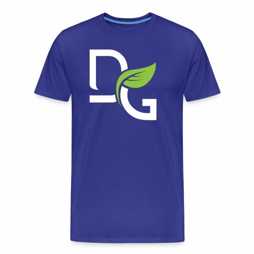 DrGreen Logo Symbol weiss grün - Männer Premium T-Shirt