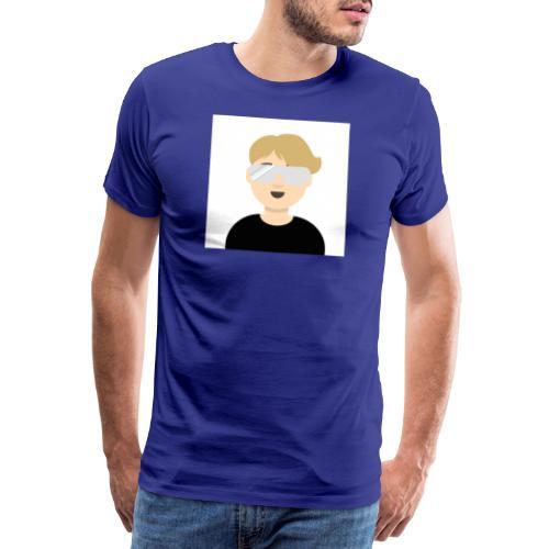 Albin kn-YT - Premium-T-shirt herr