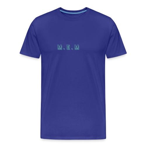 m.e.m - Premium-T-shirt herr