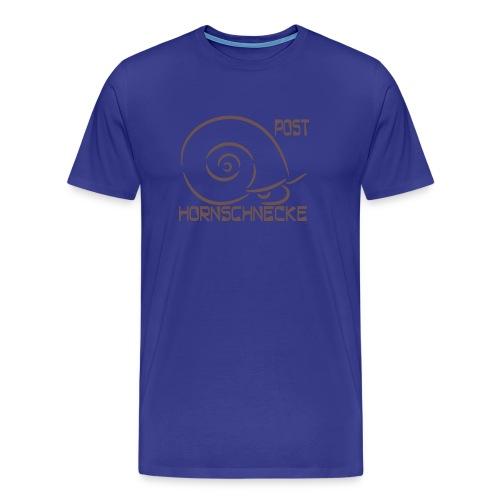 Posthornschnecke - Männer Premium T-Shirt