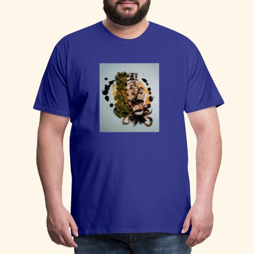 Spanish food choco plancha - Camiseta premium hombre