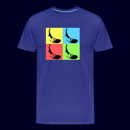 Pop Art Bananas - Maglietta Premium da uomo