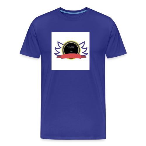 Will you be my player 2 - Men's Premium T-Shirt