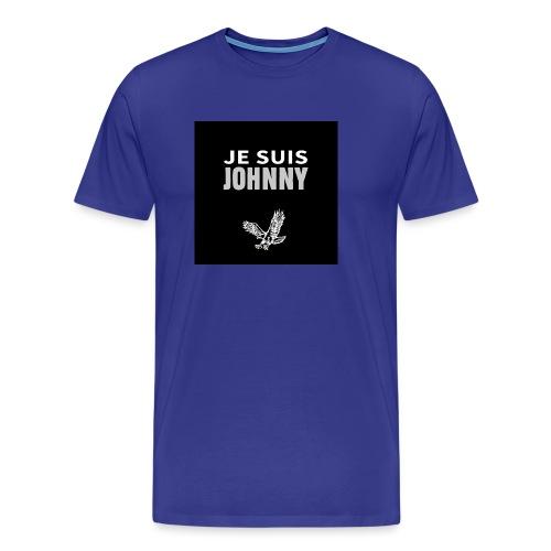 Je suis Johnny aigle fond noir - T-shirt Premium Homme