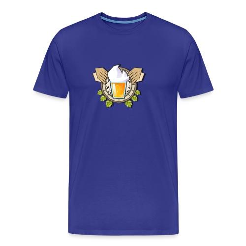 Logo Une biere et Jivay (Officiel) - T-shirt Premium Homme