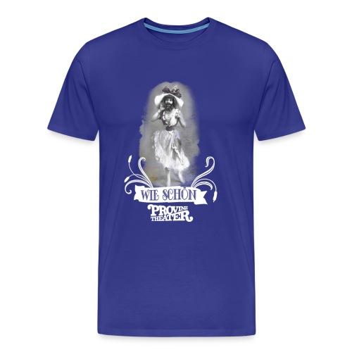 wieschoen weiss - Männer Premium T-Shirt
