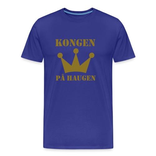 Kongen på haugen - Premium T-skjorte for menn