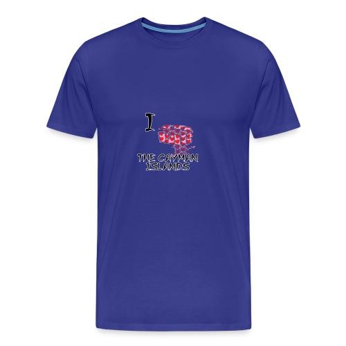I Love The Cayman Islands - Men's Premium T-Shirt