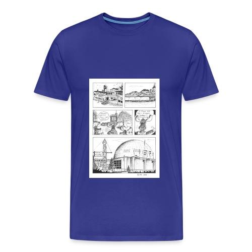 Moose_STH_4 - Premium-T-shirt herr