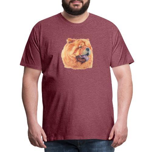 chow chow - Herre premium T-shirt