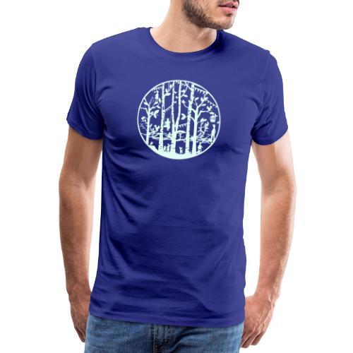 Mandala knipkunst lente - Mannen Premium T-shirt