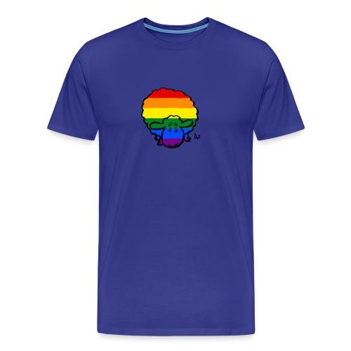 Moutons arc-en-fierté - T-shirt Premium Homme