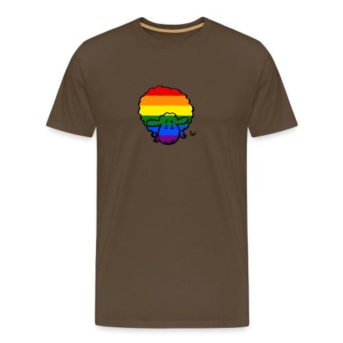 Rainbow Pride Sheep - Men's Premium T-Shirt