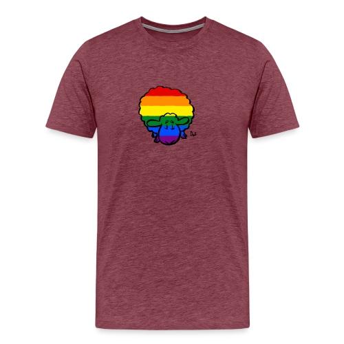 Regenbogen-Stolz-Schafe - Männer Premium T-Shirt