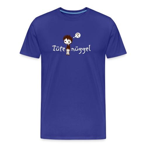 Tütenüggel (Kölsch, Karneval, Köln) - Männer Premium T-Shirt