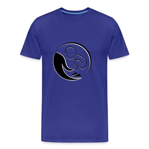 Baby in der Hand - Männer Premium T-Shirt