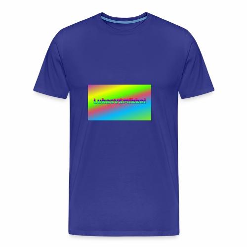 LukasVSMikkel Logo - Herre premium T-shirt