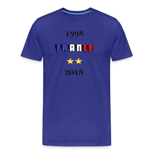 France 1998 2018 - T-shirt Premium Homme