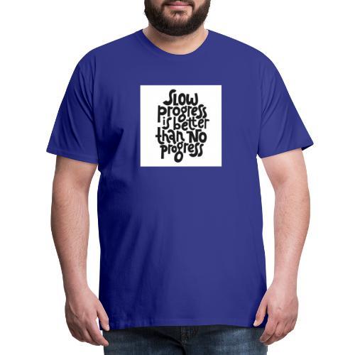 Motivational Fitness Shirt - Männer Premium T-Shirt