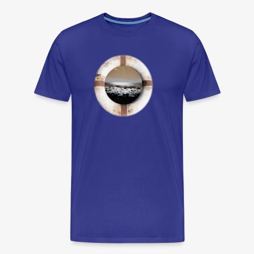 Ocean im Rettungsring - Männer Premium T-Shirt