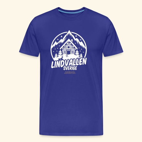 Lindvallen Sälen Sverige Ski Resort T Shirt Design - Männer Premium T-Shirt